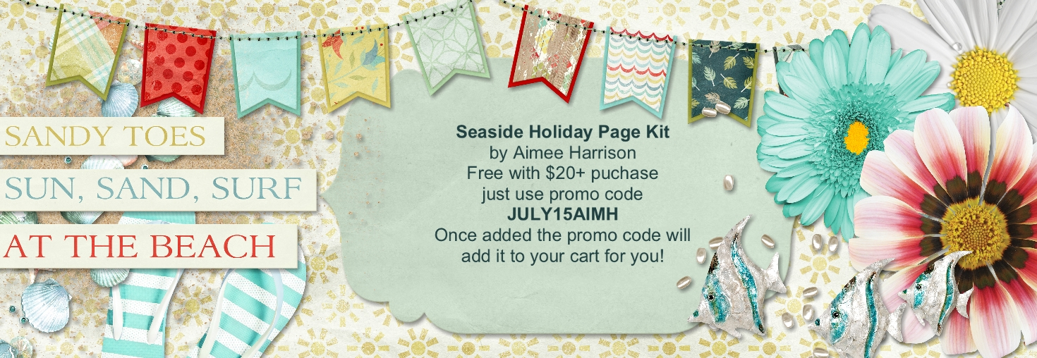 Seaside Holiday Page Kit