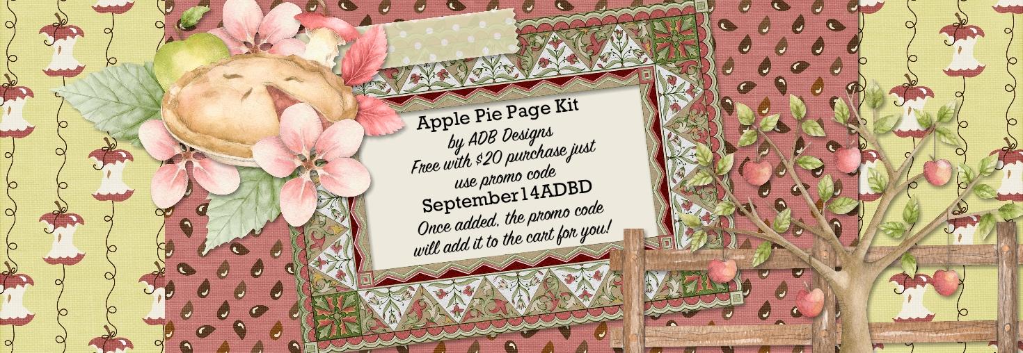 Apple Pie Page Kit