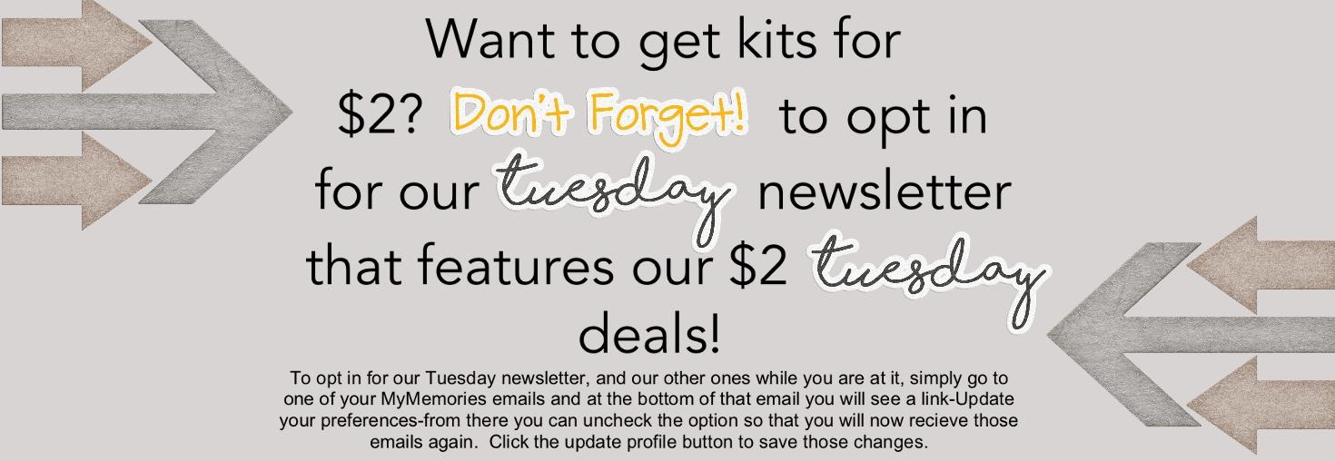 Tuesday Newsletter