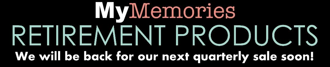 Retiring MyMemories Kits